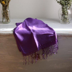 PURE Silk Scarf-Scarf-Anatoli.co-Purple-Anatoli.co