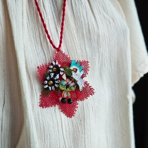 SITARA Handmade Necklace-Accessories-Anatoli.co-Red-Anatoli.co