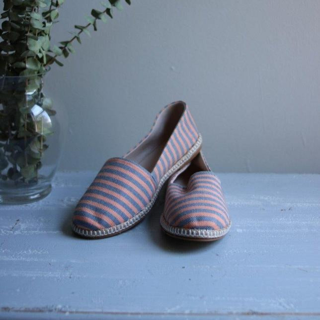 THICKER STRIPES Espadrilles-Shoes-Anatoli.co-38-Orange and blue-Anatoli.co