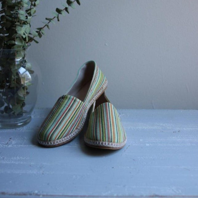 THIN STRIPES Espadrilles-Shoes-Anatoli.co-37-Green-Anatoli.co