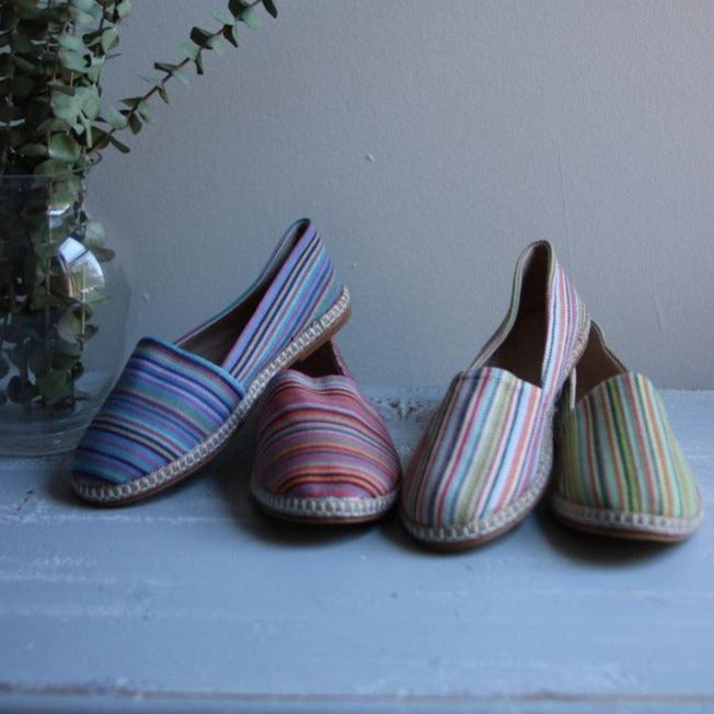 THIN STRIPES Espadrilles - anatolico