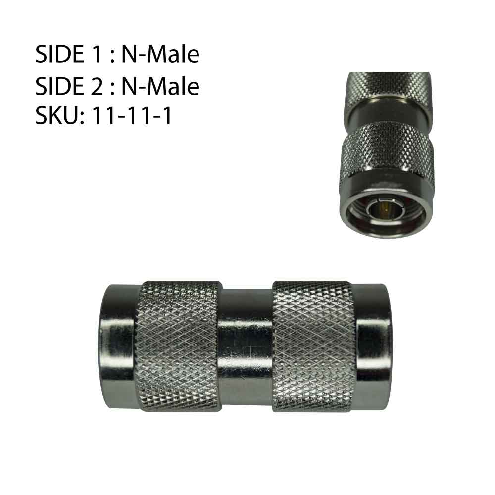 N-Type Connector Adapters & Crimps