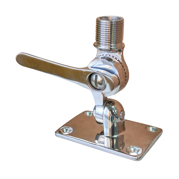 Marine Ratchet Mount, Stainless Steel