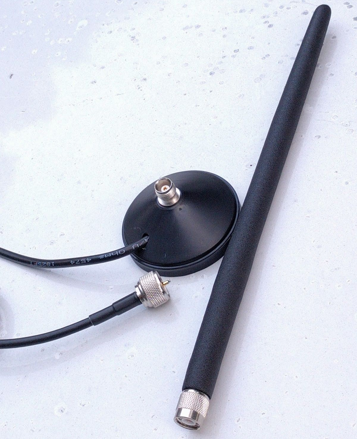 Magnetic CB Rubber Flex CB 27MHz Antenna with 9 FT cable. BEST ONE. Made In USA