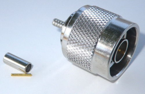 Coaxial Connector N-Type Male Crimp RG-174 LMR-100 316
