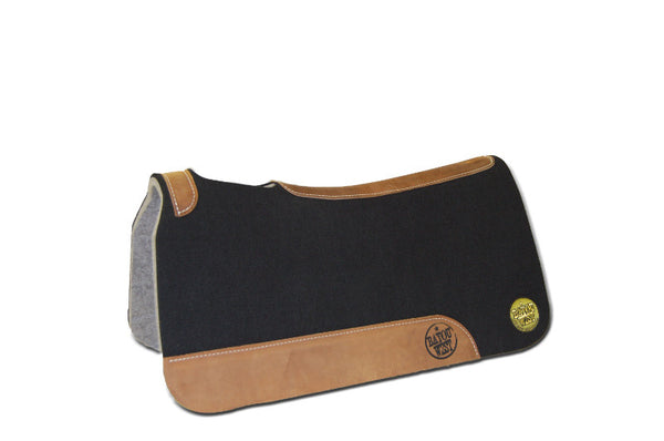 Bayou West Fusion 29x29 and 31x32 100% Wool Felt Western Saddle Pad
