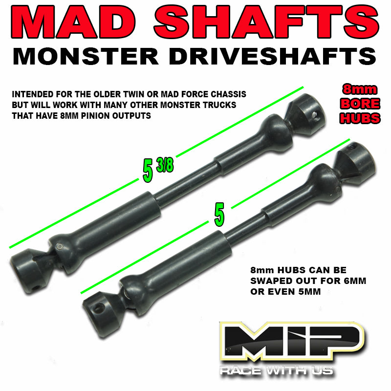 MIP MAD SHAFTS