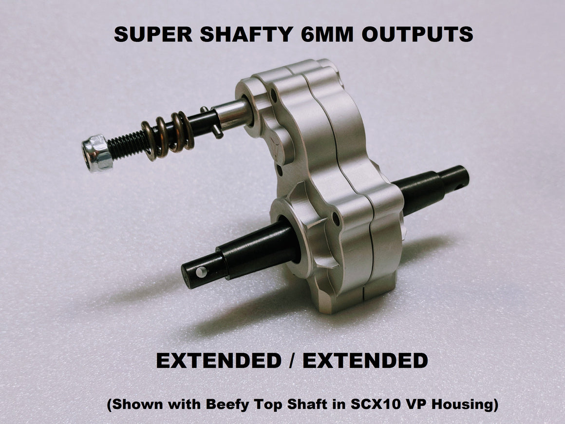 SuperShafty Bombproof 6mm Outputs