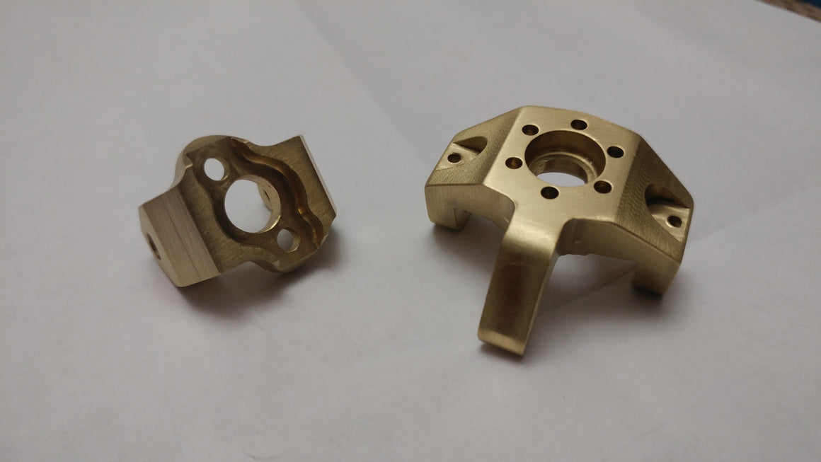 Bombproof Brass LOSI Night Crawler HIGH MASS Knuckles
