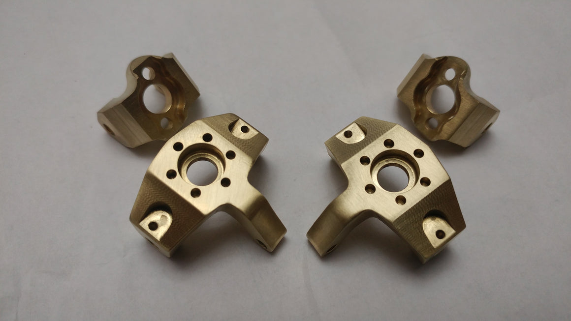 Bombproof Brass LOSI Night Crawler HIGH MASS Knuckles & CHUBS