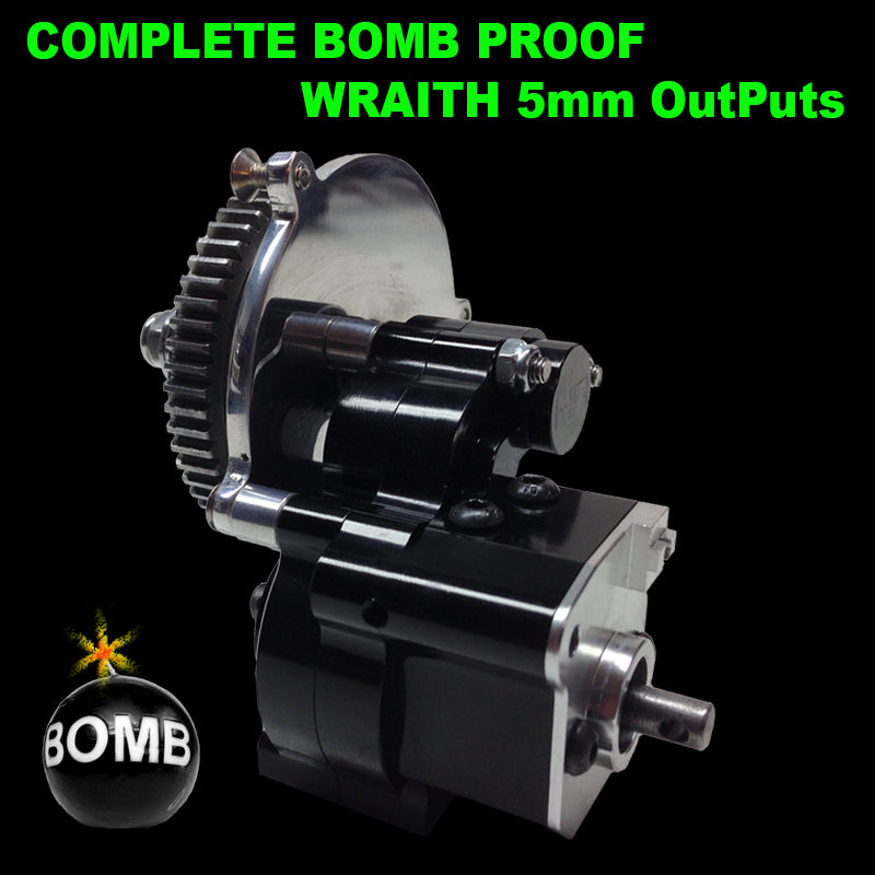 Complete Bomb Proof WRAITH Trans (5mm OutPuts)