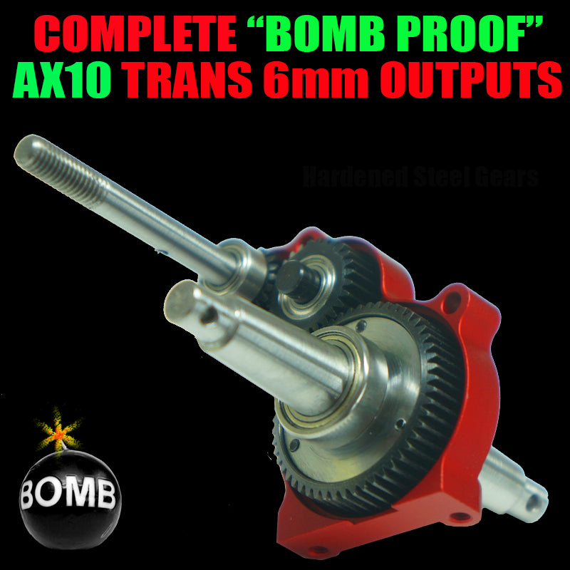 Complete 6mm OutPut Bomb Proof TRANS