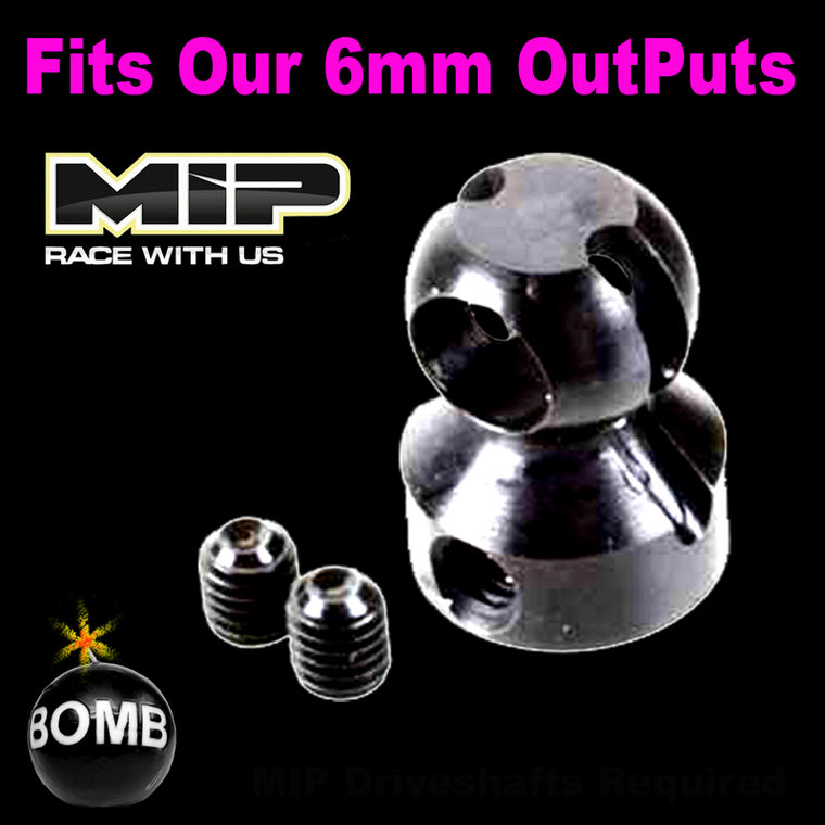 MIP 6mm Bore Spline CVD™ Hub