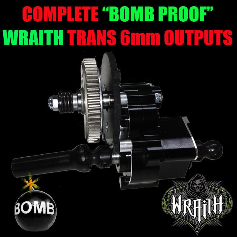 Complete Bomb Proof  WRAITH Trans (6mm OutPuts)