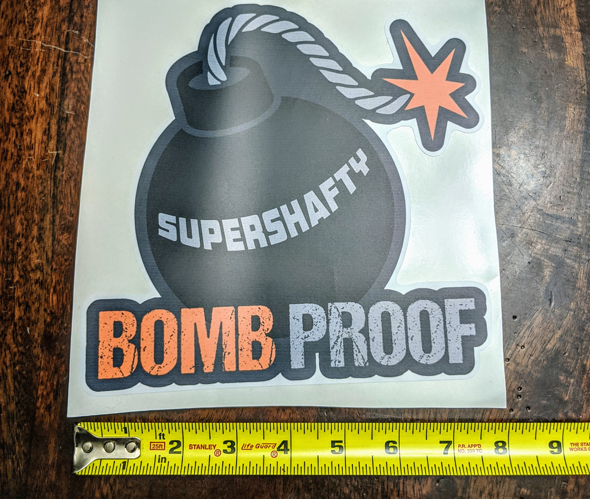 SuperShafty Large Sticker