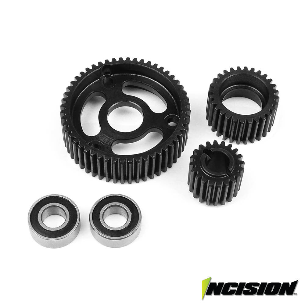 Vanquish Incision Transmission Steel Gear Set
