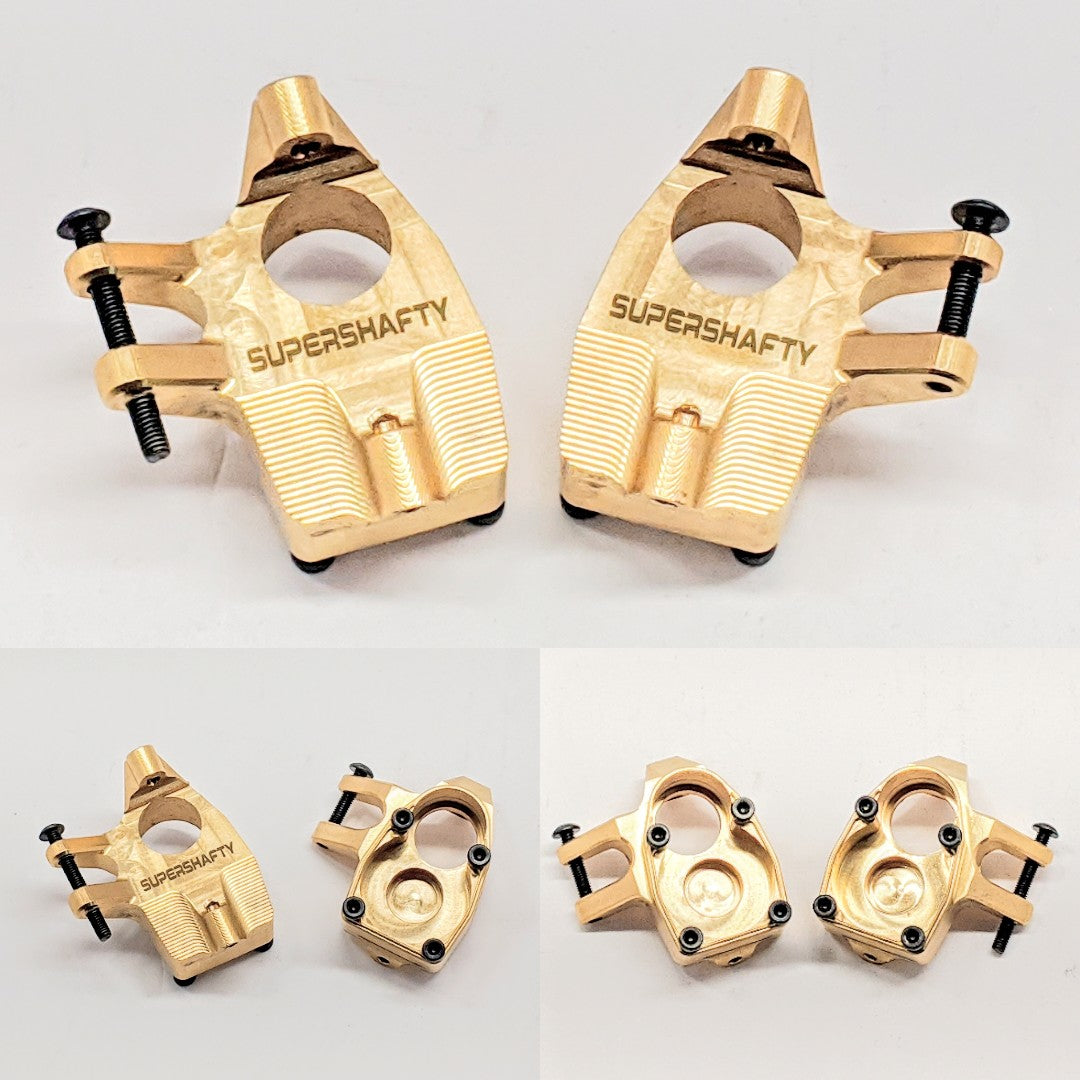 SuperShafty SCX10iii Brass Knuckles