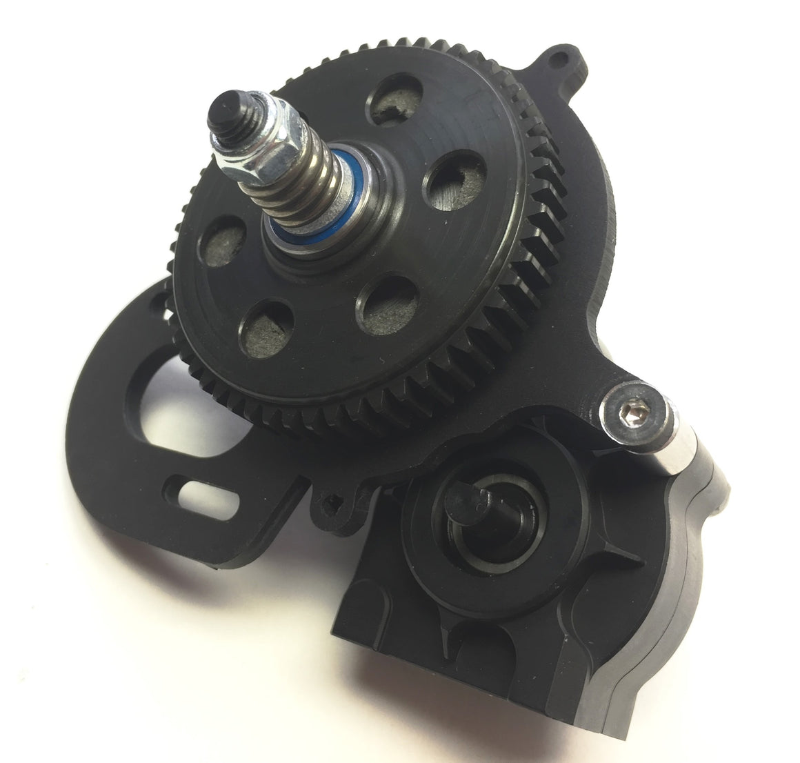 SuperShafty Bombproof Transmission for Axial SCX10 & SCX10.2 (5mm OutPuts)