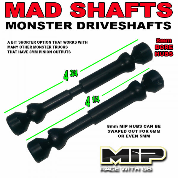 "MIP ""SHORT"" MAD Shafts"