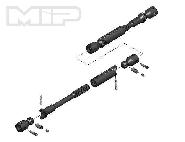 SuperShafty MIP HD Driveline Kits - *Order By Measurement*