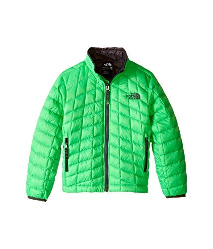 The North Face Boys ThermoBall Full Zip Jacket Krypton Green X-Large