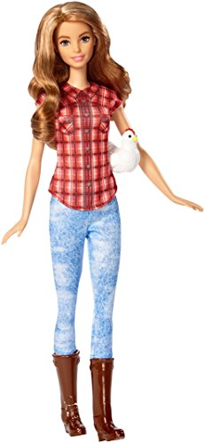 Barbie Careers Farmer Doll with Chicken