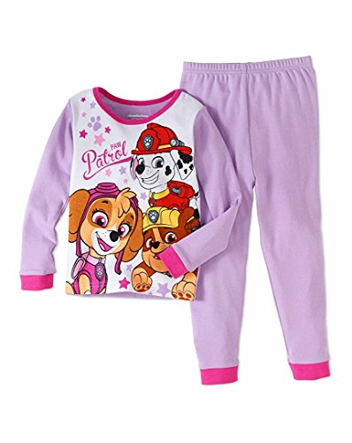Paw Patrol Baby Toddler Girls Cotton Tight Fit Pajamas 2pc Set