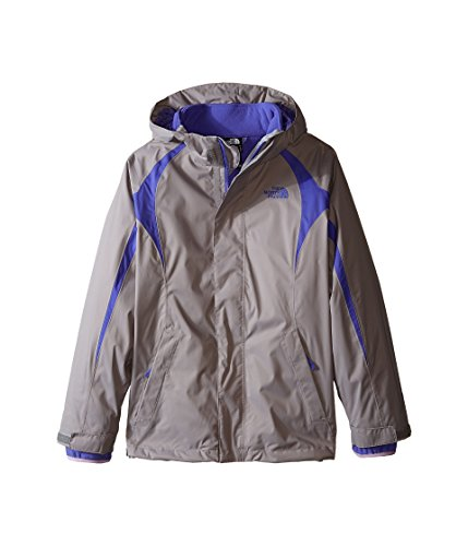 2432af832 The North Face Mountain Triclimate Jacket Girls Metallic Silver XXS5