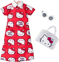 Barbie Fashions Hello Kitty Red Dress Outfit