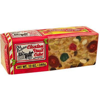 Claxton Holiday Fruit Cake 12oz
