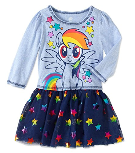 Toddler Girls My Little Pony I am Star Dress With Tutu Skirt