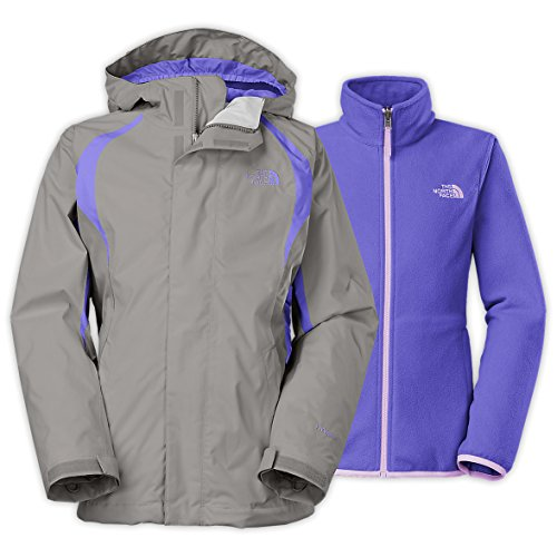 The North Face Mountain Triclimate Jacket Girls Metallic Silver XS6