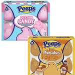 Peeps Easter Candy Bundle: Cotton Candy and Pancakes & Syrup