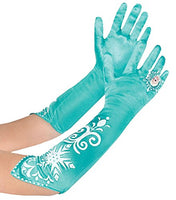 Disney Frozen Elsa Long Costume Dress Up Play Gloves