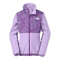 The North Face Girl's Denali Jacket Recycled Violet Tulip Purple Youth Small
