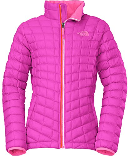 The North Face Thermoball Full Zip Jacket Girls Luminous Pink XL18