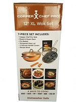 "Copper Chef Pro 12"" XL Wok 7 Piece Set"