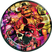 Five Nights at Freddy's 8ct Paper Plates and 16ct Napkins Party Supplies Bundle