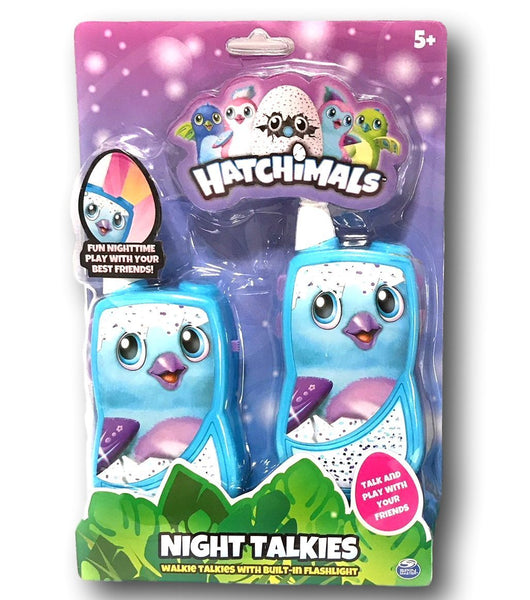 Hatchimals Night Talkies Walkie Talkies with Built-in Flashlight