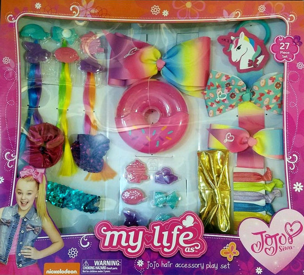 JoJo Siwa My Life Hair Accessory 27 Piece Play Set