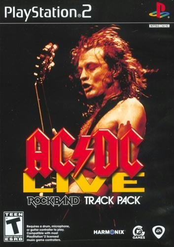 MTV Games AC/DC Live Rock Band Track Pack (PlayStation 2)