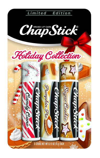 ChapStick Holiday Limited Edition Lip Balms 0.15 oz (Pack of 3)
