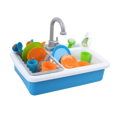 Spark Kitchen Play Sink Set with Real Running Water