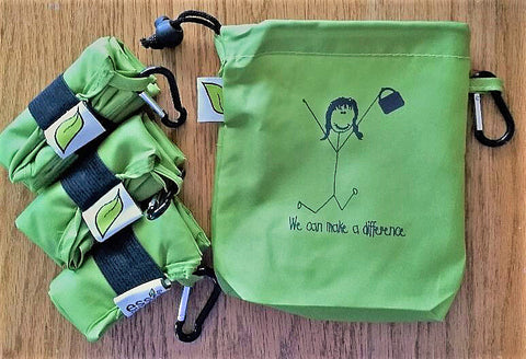 Earth Day Clip-on Bag Set