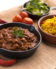 Chilli con Carne with Mexican Rice