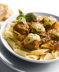 Italian Meatballs with Penne