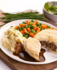 Homestyle Meat Pie Feast