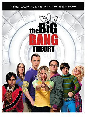 The Big Bang Theory: Season 9 (DVD) - DVDsHQ