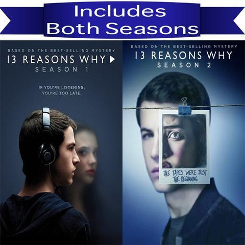 13 Reasons Why Seasons 1-2 on DVD Paramount Home Entertainment DVDs & Blu-ray Discs