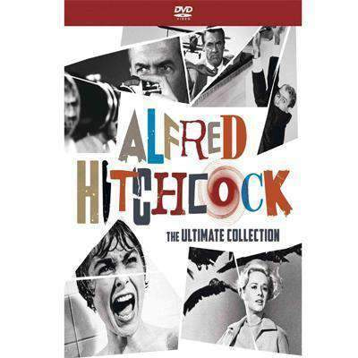 Alfred Hitchcock DVD Series The Ultimate Collection Box Set Universal Studios DVDs & Blu-ray Discs